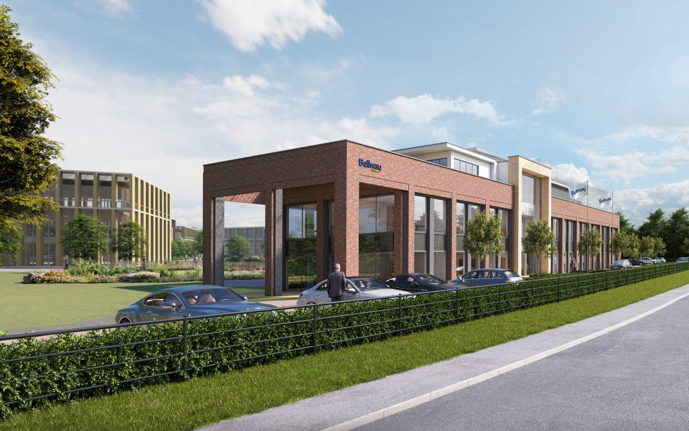 AirView Business Park is the ideal location for Bellway's new UK head office